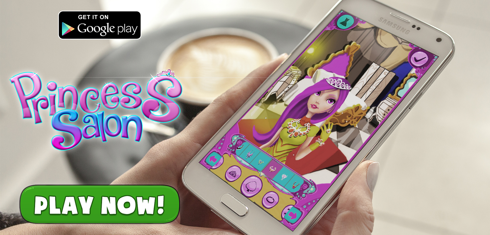 Princess Salon Dress up Games
